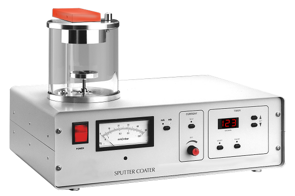 Manual sputter coater