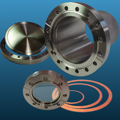 CF vacuum components