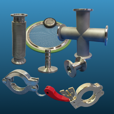 KF vacuum components